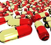 Cápsulas médicas — Foto de Stock
