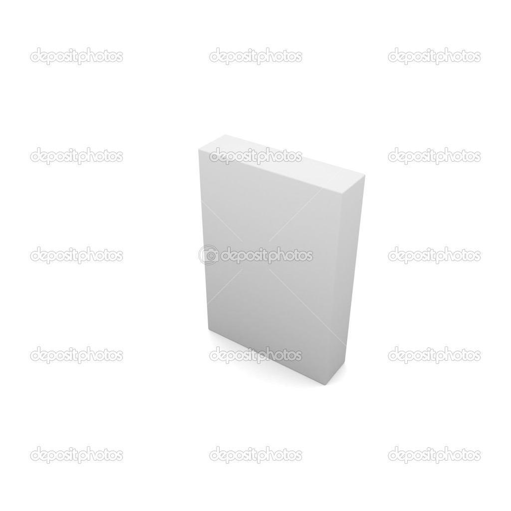 Creative Decor Style Ancient Design White Box — Stock Photo #5242898