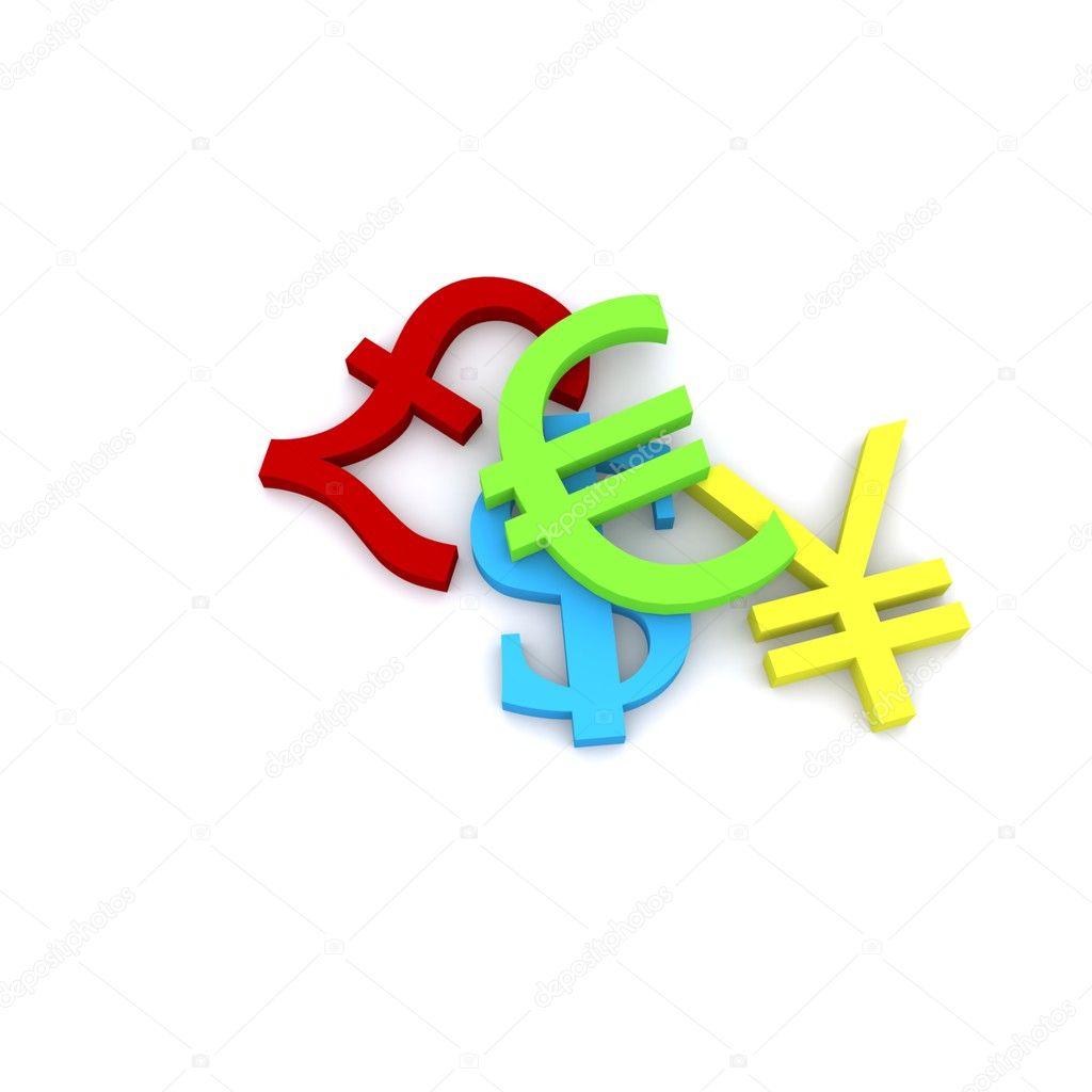 facebook colored symbols