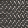 Brown Sleek Metallic Diamond Plate - Stock Photo