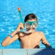 Royalty-Free Stock Photo: Boy in a swimming pool