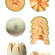All you ever wanted to know about cantaloupe melon - Stock Photo
