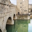 Pulteney bridge over river Avon, Bath Town, England, — Stock Photo #4643886