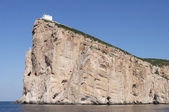 Sardinia, Capo Caccia, wide-angle shot — Stock Photo
