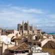 Palma de Mallorca; view over the rooftops from the old city wal — Stock Photo