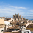Palma de Mallorca; view over the rooftops from the old city wal — Stock Photo #4674078