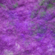 Hand-made felt in lilac color scheme - texture background - Stock Photo