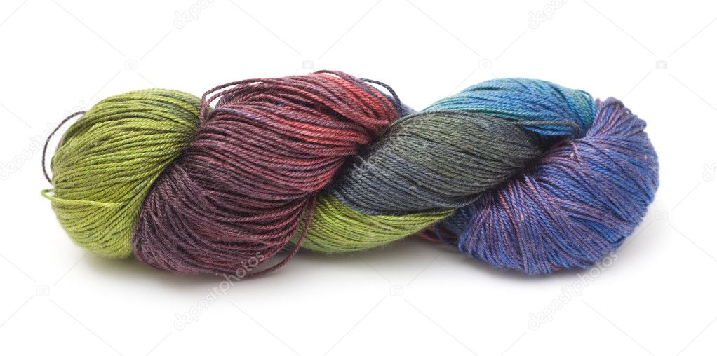 Knitting Patterns For Thin Yarn : Beautiful hand-dyed thin knitting yarn with long runs ...
