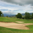 Stock Photo: Mountain Golf Course