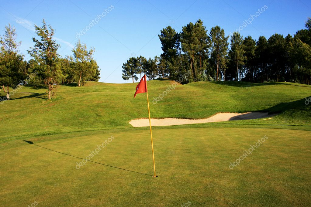Golf field — Stock Photo #4591499
