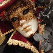 Stock Photo: Man with a mask at Venice