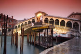 Venice The Rialto Bridge — Stock Photo