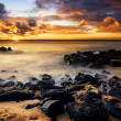 Coastal Sunset - Foto Stock