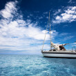 Sailing in Paradise — Stock Photo