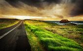 Carretera costera — Foto de Stock