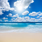 Gorgeous Beach Landscape — Stock Photo