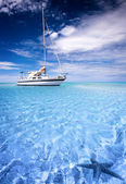 Laguna tropical — Foto de Stock
