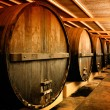 Stock Photo: Winery Barrels