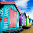 Beach Huts - Stock fotografie