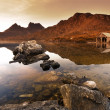 Cradle Mountain Sunrise - Stock Photo