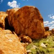 Devils Marbles Panorama - Stock Photo