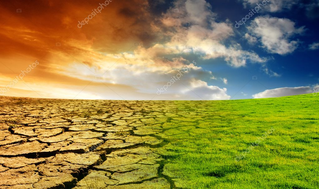 Effect of Global Warming — Stock Photo #5215796