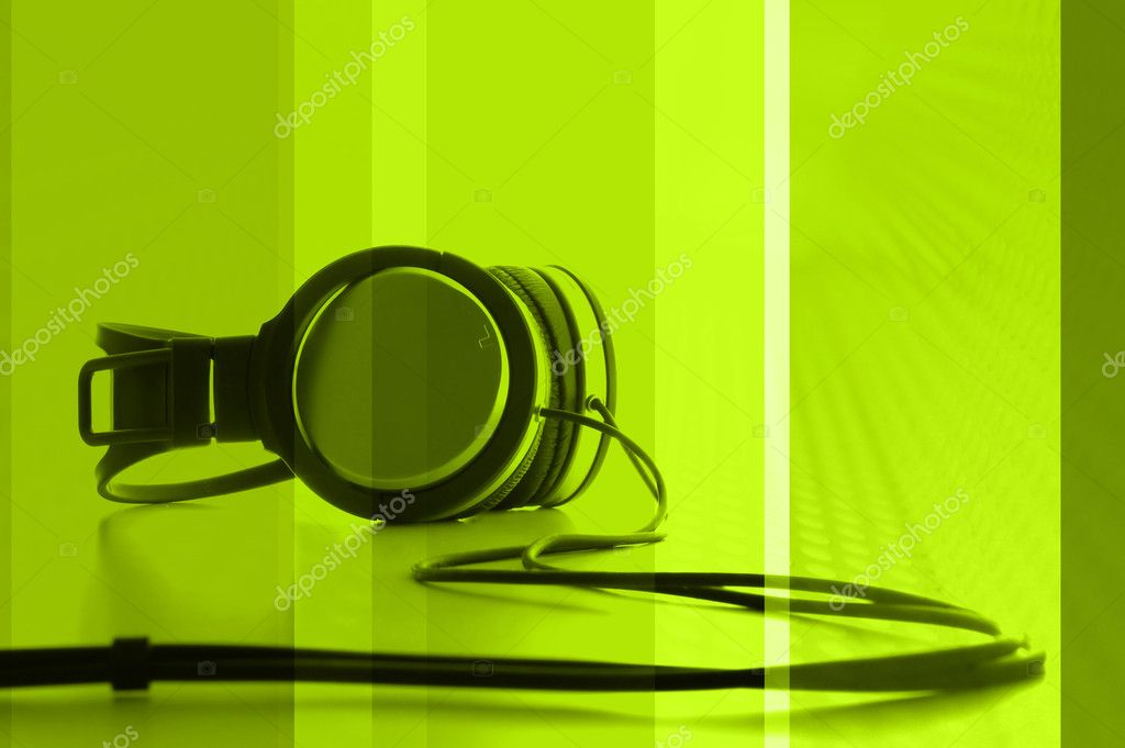 DJ Abstract  Stockfoto #5215901