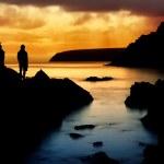 Peaceful Ocean Sunset — Stock Photo