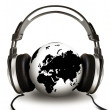 Listening Globe - Stock Photo