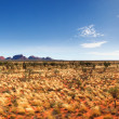 Central Australia Panorama — Stock Photo