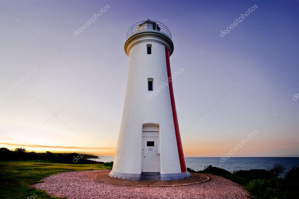 Lighthouse in Tasmania — Stock Photo #5238815
