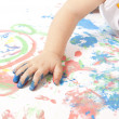 Stock Photo: Baby Painting
