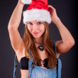 Christmas girl — Stock Photo #4476060