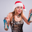 Christmas girl — Stock Photo