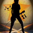 Royalty-Free Stock Photo: MUSICAL BACKROUND