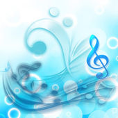 MUSICAL BACKGROUND — Stock Photo