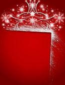 NEW YEAR'S CONGRATULATING CARD — Stock Photo
