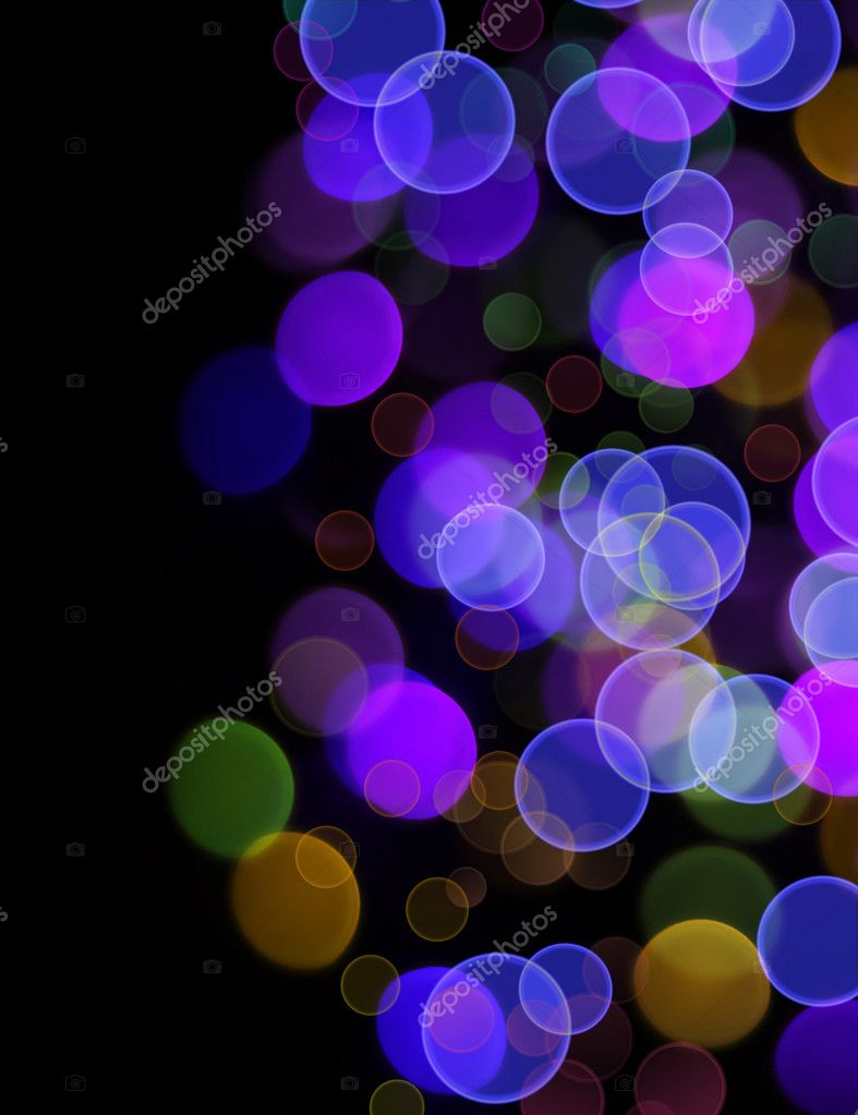 ABSTRACT BACKGROUND WITH  BOKEH — Stock Photo #4526892