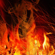 FIERY BACKGROUND — Stock Photo #4531012