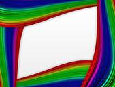 Cornice colorata — Foto Stock