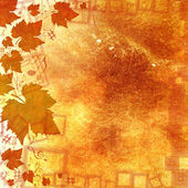 AUTUMN MUSICAL BACKGROUND — Stock Photo
