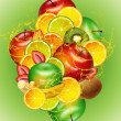 FRUIT MIX — Stock Photo #4942797