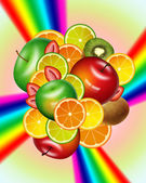 Fruit mix — Stockfoto