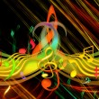 MUSICAL BACKGROUND - Foto de Stock