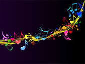 Colorful Romantic Background Music — Stock Photo