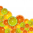 CITRON MIX ON  WHITE — Stock Photo