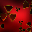 RADIOACTIVE BACKGROUND — Stock Photo #5225036
