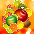 FRUIT BACKGROUND — Stock Photo #5232618