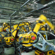 Car production line — Stock Photo #4467588