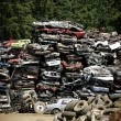 Wreck yard — Stock Photo